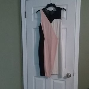 Three toned dress